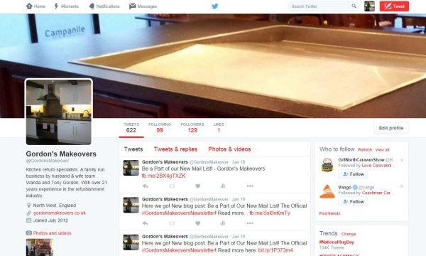 Gordon's Social Media Expansion! Follow us now!