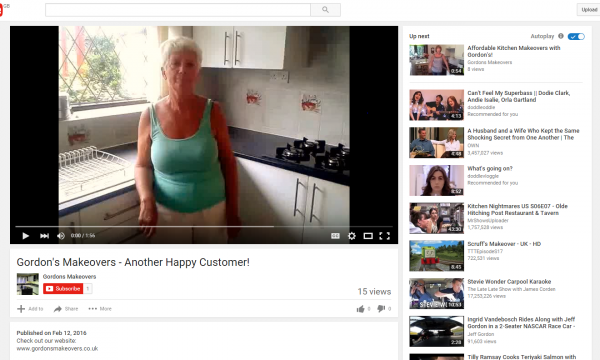ANOTHER YOUTUBE VIDEO! Another Happy Customer!