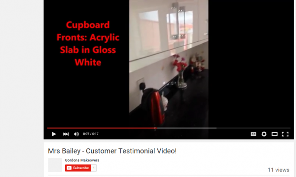 YOUTUBE VIDEO! Mrs Bailey's Testimonial!