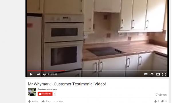 YOUTUBE VIDEO! Mr Whymark's Testimonial!