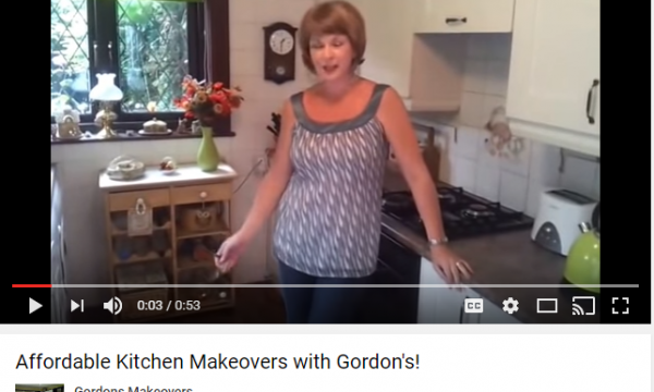 YOUTUBE VIDEO: Affordable Kitchen Makeovers with Gordon's!